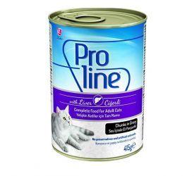 Proline Ciğerli Kedi Konservesi 415 Gr * 20 Adet