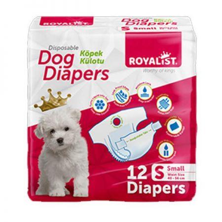 Royalist Köpek Alt Bağlama Bezi Small 40-56 cm 12 Adet
