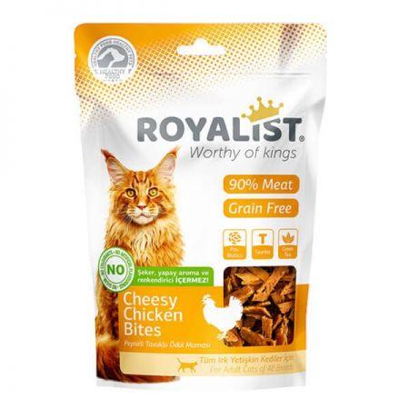 Royalist Tavuk ve Peynirli Yumuşak Tahılsız Kedi Ödülü 80 Gr