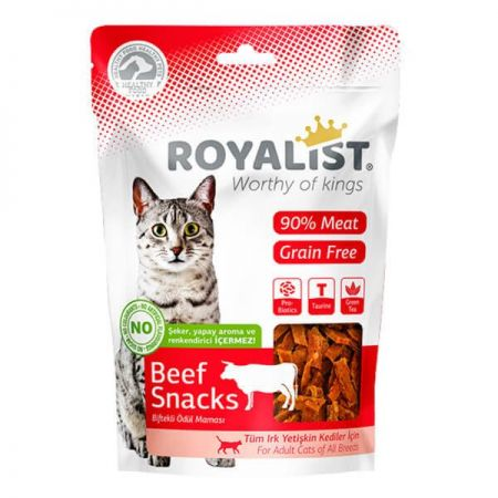 Royalist Biftekli Yumuşak Tahılsız Kedi Ödülü 80 Gr