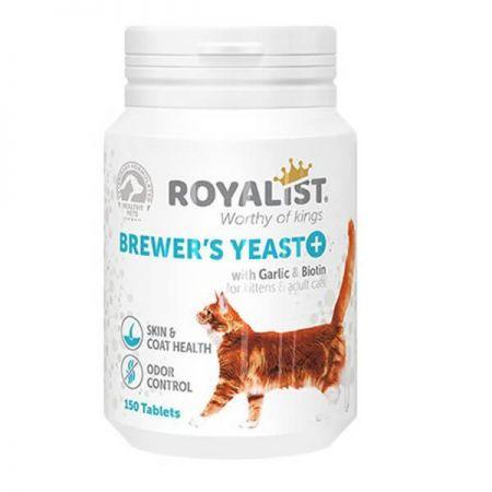 Royalist Brewers Yeast Kediler İçin Deri Tüy Sağlığı ve Koku Giderici Tablet 150 Adet