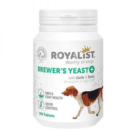 Royalist Brewers Yeast Köpekler İçin Deri Tüy Sağlığı ve Koku Giderici Tablet 150 Adet