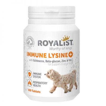 Royalist Immune Lysine Köpekler İçin  Bağışıklık Sistemi Güçlendirici Tablet 100 Adet
