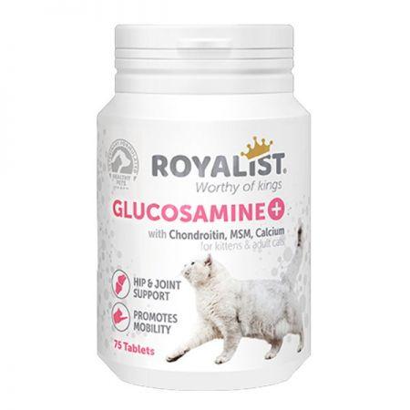 Royalist Glucosamine Kediler İçin Kalça ve Eklem Sağlığı Destekleyici Tablet 75 Adet