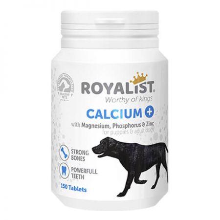 Royalist Calcium Köpekler İçin Kemik ve Diş Günçlendirici Tablet 150 Adet