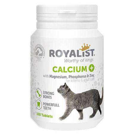 Royalist Calcium Kediler İçin Kemik ve Diş Güçlendirici Tablet 150 Adet
