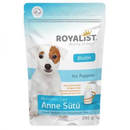 Royalist Biotinli Yavru Köpekler İçin Anne Sütü Ek Besin Takviyesi 200 Gr