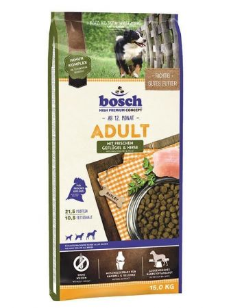 Bosch Adult Poultry Glutensiz Kümes Hayvanı Köpek Maması 15 Kg