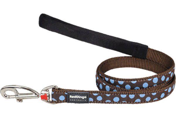 Red Dingo Kahverengi Üzerine Mavi Benekli Uzatma 15mm