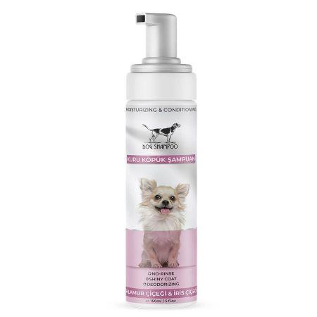 Catidea Beyaz Linda Çiçeği Kokulu Köpük Köpek Şampuanı 150 Ml