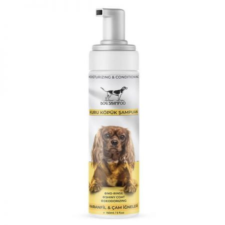 Catidea Karanfil ve Çam Kokulu Köpük Köpek Şampuanı 150 Ml