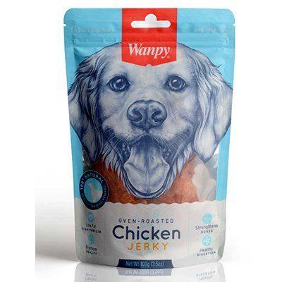 Wanpy Kavrulmuş Tavuk Parçalı Köpek Ödülü 100 Gr