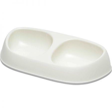 Moderna Sensibowl İkili Mama ve Su Kabı 2x200 ml Beyaz