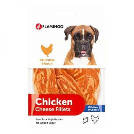 Flamingo Chicken Tavuk ve Peynirli Köpek Ödülü Large 85 gr