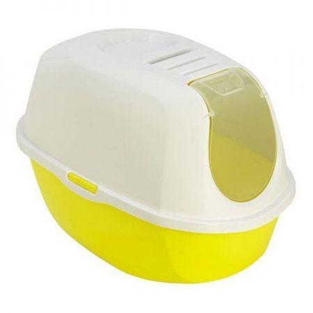 Moderna Smart Kapalı Kedi Tuvaleti Sarı 40x54x41h cm