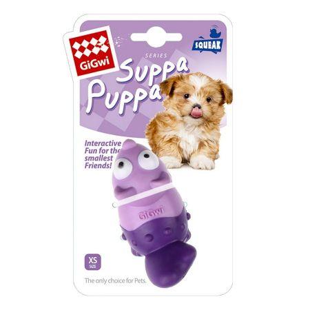 Gigwi Suppa Puppa Tilki Diş Kaşıma Köpek Oyuncagı Pembe/Mor
