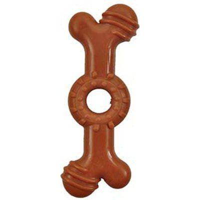 Flamingo Tpr Çikolata Aromalı Köpek Kauçuk Kemik 19 Cm