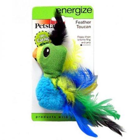 Petstages Feather Toucan Tüylü Kedi Oyuncağı
