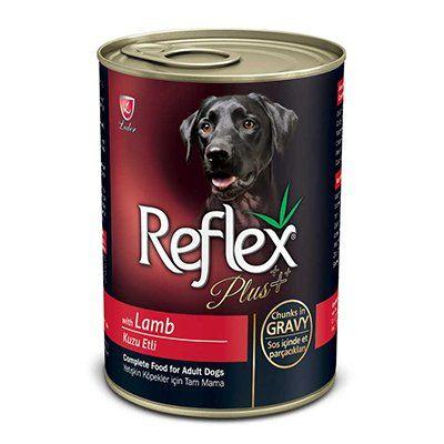 Reflex Plus Kuzulu Yetişkin Köpek Konservesi 400 Gr