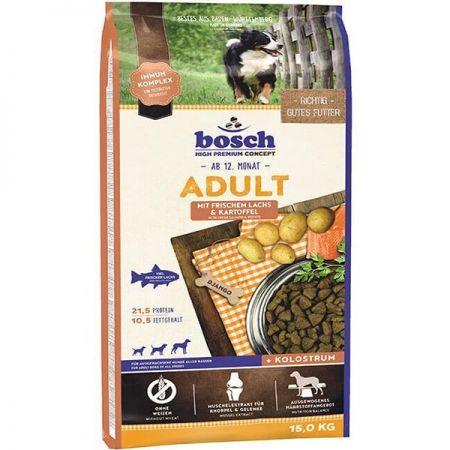 Bosch Adult Glutensiz Somon Balıklı Patatesli Yetişkin Köpek Maması 15 Kg