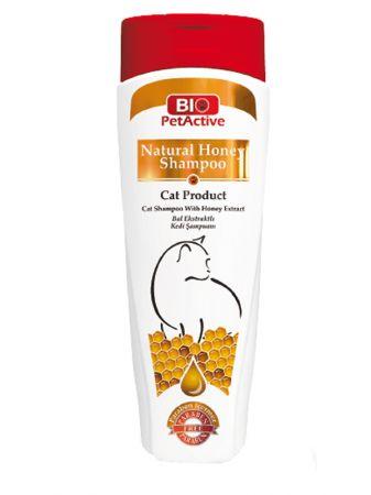 Pet Active Natural Bal ve Buğday Özlü Kedi Şampuanı 400 ml
