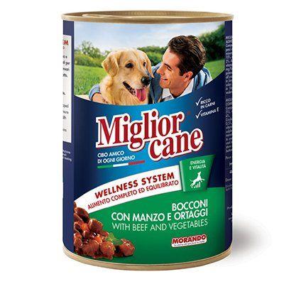 Miglior Biftek ve Sebzeli Yetişkin Köpek Konservesi 405 Gr