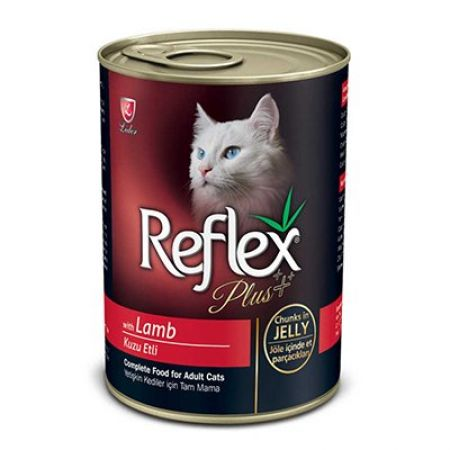 Reflex Plus Kuzulu Kedi Konsversi Et Parçacıklı 400 Gr