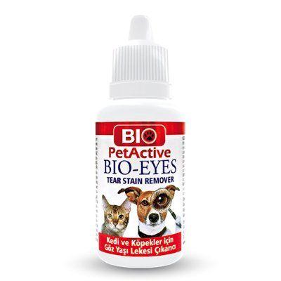 Pet Active Bio Eyes Kedi Ve Köpekler İçin Gözyaşı Leke Çıkartıcı 50 Ml