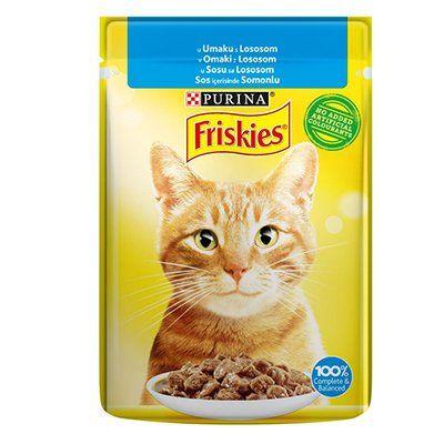 Friskies Somonlu Yetişkin Kedi Konservesi 85 Gr