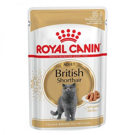 Royal Canin British Shorthair Adult Pouch Kedi Maması 85 Gr