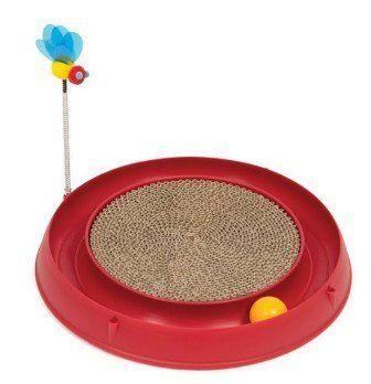 Catit Play Circ Ball W Scratch Pad Kedi Tırmalama Kartonu