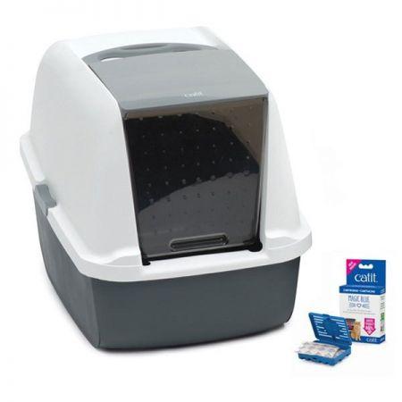 Catıt Magıc Blue Lıtter Box Regülar Kapalı Kedi Tuvaletı 57x46,5x39 Cm