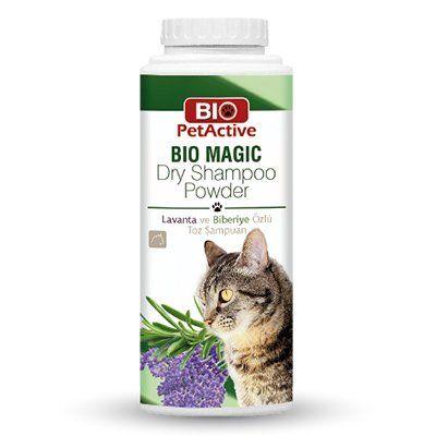Pet Active Bio Magic Biberiye Özlü Toz Kedi Şampuanı 150 Gr
