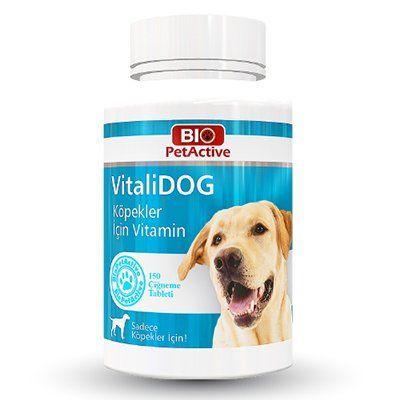 Pet Active Vitalidog Köpekler İçin Multivitamin Tableti 150 Adet 75 Gr