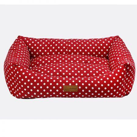 Dubex Makaron Dikdörtgen Yatak Vr01 Kırmızı(S)38x50x19h cm
