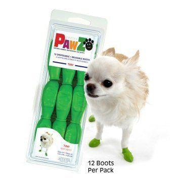Pawz Köpek Galoşu - Elma Yeşili Tiny