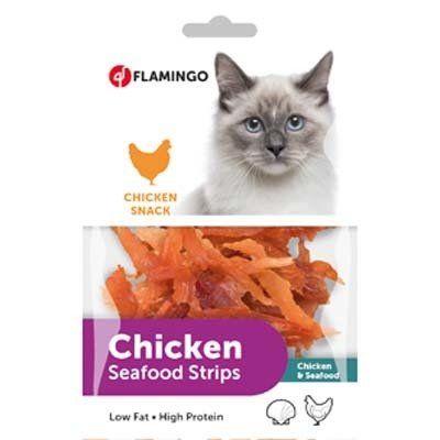 Flamingo Chicken Tavuklu Balıklı Kedi Ödül Maması 85 Gr