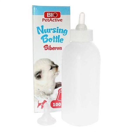 Pet Active Nursing Bottle Yavru Kedi Ve Köpekler İçin Biberon Seti 100 Ml