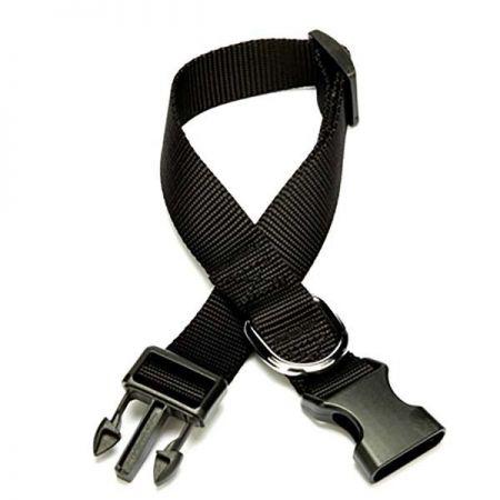 Doggie Classic  Dokuma Köpek Boyun Tasması Medium Siyah 2,5x40-50 Cm