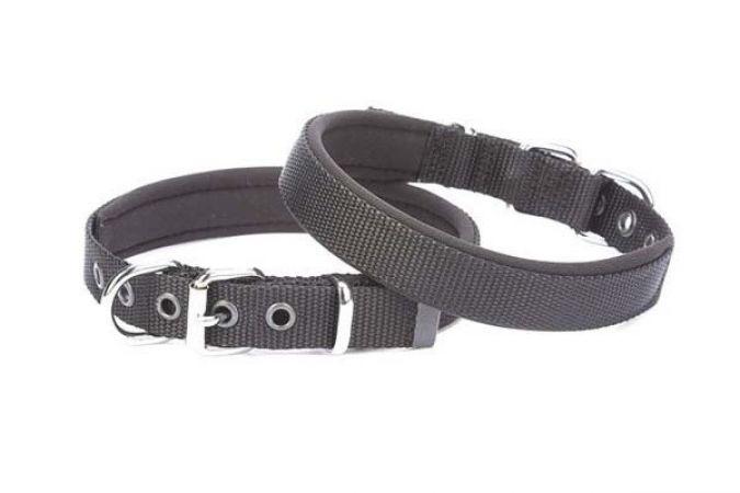 Doggie Comfort Dokuma Köpek Boyun Tasması Small Siyah 1,5x20-25 Cm