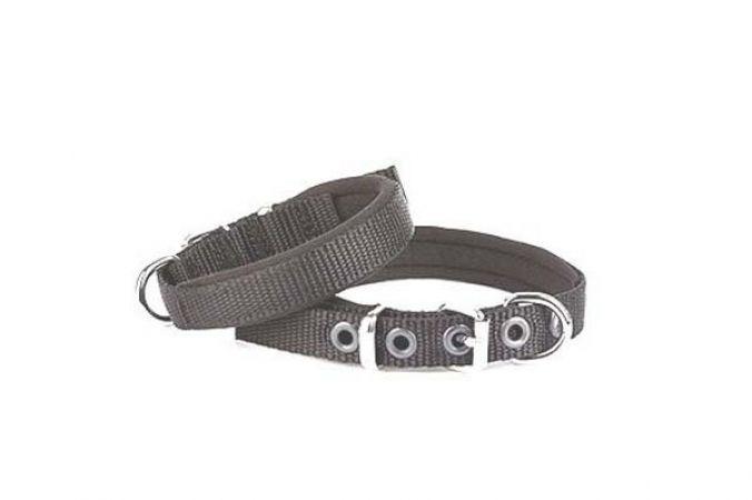 Doggie Comfort Dokuma Köpek Boyun Tasması Medium Siyah