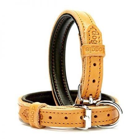 Doggie Fırstclass Köpek Deri Boyun Tasması Small Camel 1,5x20-25 Cm