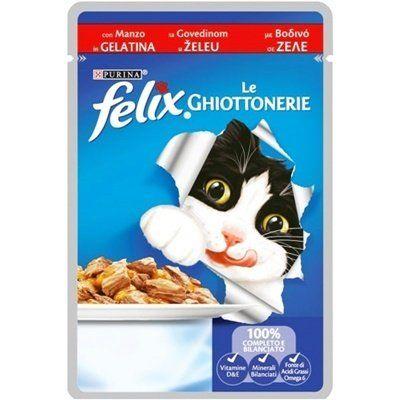 Felix Junior Etli Yavru Kedi Maması 100 Gr
