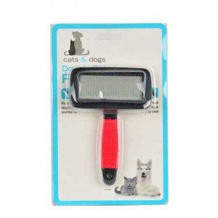 Petpretty Zm-1027XL İnce Uçlu Kırmızı Kedi Köpek Tarağı Xl