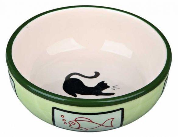 Trixie Kedi Seramik Mama/Su Kabı 0,35Lt/12,5cm