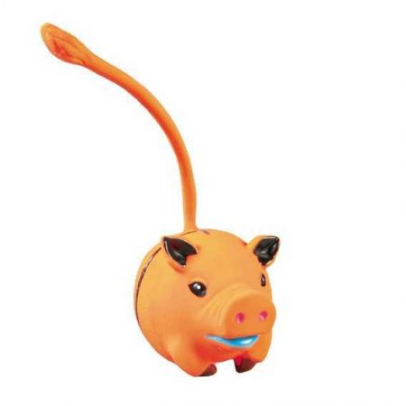 Trixie Köpek Oyuncağı,Kuyruklu Latex Hayvanlar 6cm