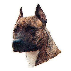 Trixie Köpek Çıkartması,St-Stafford Terrier 1 Adet