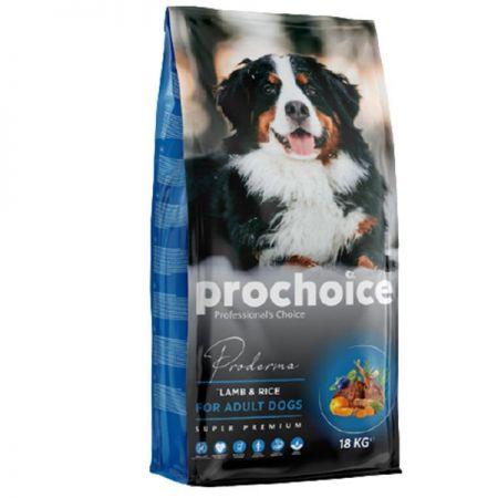 Pro Choice Proderma Kuzu Etli Yetişkin Köpek Maması 18 Kg