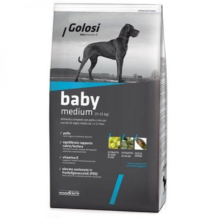 Golosi Baby Medium Orta Irk Yavru Köpek Maması 12 Kg