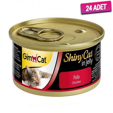 Gimcat Shinycat Tavuklu 70gr - 24 Adet